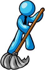 commercial cleaning services logo